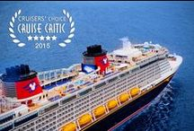 Disney Cruise Line / Where else can you find fun for the whole family, including areas for adults to get away?  The ultimate vacation, a Disney Cruise!