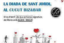 Firma de Escritores en Cucut Biz & Bar / 23/Abril Sant Jordi