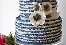 Ruffle Wedding Cake - Inspiration Mariage
