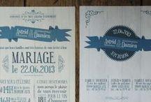 Faire-part - Papeterie Mariage