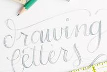 Hand Lettering, Calligraphy
