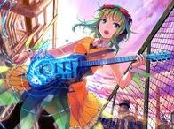 GUMI Megpoid / Like,share and follow. Make sure pins are on topic and no inappropriate pins.(eg nudity, lolicon)