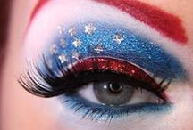 Just for the ladies <3 / Neat patriotic beauty ideas for summer parties