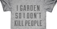 Gardening Tee Shirts