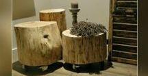 Boomstam (bijzet) tafel »»» Stoereplanken.nl / Nu we de #winter weer in gaan en het buiten koud en guur is, halen we de #natuur weer naar #binnen! Onze #boomstam #meubels zijn hartstikke 'in'! Dat is ook logisch, want een #boomstam #bijzettafel staat bijzonder mooi en #gezellig.