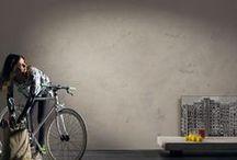 Segui il tuo Istinto | 3° Edizione / Innovativo ed estremamente versatile questo stucco consente di lavorare la parete in un solo passaggio. Seguite il vostro istinto creando vere e proprie textures nei vostri interni, giocando con effetti a rilievo personalizzati e svariati abbinamenti colore. Composto di sola calce, polveri di marmo  e minerali, questo prodotto, in grado di coprire le minori irregolarità del muro, rappresenta il connubio fra natura e design. #giorgiograesan