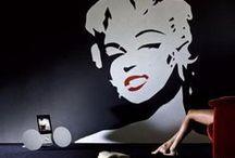 Art Walls & decoration / Tantissime idee per decorare la vostra parete con le nostre pitture e alcuni suggerimenti su come riempirle. Some inspirations about how to decorate your walls by using Giorgio Graesan & Friends products and some ideas about how to fill them with disposal ideas.