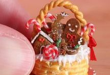 Gingerbread Crush / An honour to my favorite Christmas icon. The gingerbread man. / by Mari Sol Lopez Perry