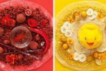 CUISINE/ DECORATION GOURMANDE / Si la gourmandise est un vilain défaut, c'est surtout un art!  Alors voilà de quoi vous mettre en appétit !