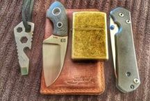 """EDC (Every Day Carry) / """"There is no praise to bear the sort that you put in your pocket."""" - Moliere"""