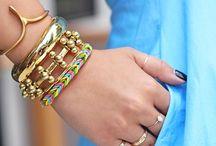 Crazy loom. Bracelets
