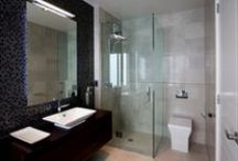 Frameless Showers / Modern frameless shower designs & ideas