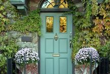 The Ultimate Halloween Doors / When black cats prowl and pumpkins gleam, may luck be yours on #Halloween!