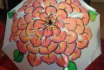OriginalUmbrella / Paraguas pintados a mano, originales y curiosos