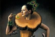 Brown: The Saucy Chameleon / Beautiful jewelry, objects and places in shades of brown...also like to sprinkle in my own brown-hued jewelry creations. I actively curate my 'color' boards nearly daily to keep them fresh.