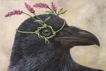 Raven: Magician, Trickster, Keeper of Secrets / Ravens, real and magical