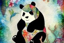 Panda awesomeness / If you love Pandas then you will like this page a lot!