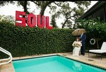 Leslie + Guido / A gorgeous bohemian wedding at the Hotel Saint Cecilia in Austin by Gypsy Floral