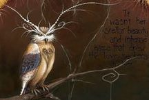 Owls: Messengers of Change / Every kind of owl, real or otherwise