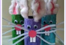 Spring & Easter Crafts / Fun Kids Crafts and Activities for Spring and Easter.