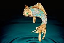"""Under the Sea, I'd like to Be... / High-end jewelry of all creatures """"Under the Sea"""""""