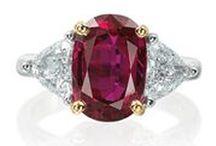 Mood Board: Rubies & Red / Ruby Jewelry | Garnet | Red Beryl | Red Sapphire | Red Jasper | Rubellite | Red Spinel