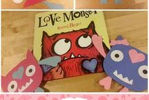Book: Love Monster / Valentine's Day Themed Books and Crafts