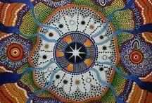 First Nations, Aboriginal Art, Artists & Culture (Australian) / Love the elemental nature of all Aboriginal art but especially the work of Anna Price Petyarre, Colleen Wallace Nungari, Mick Namararri Tjapaltjarri & Sheila Humphries