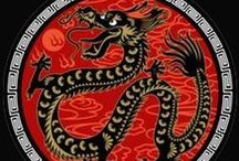 Dragons / Expressing enthusiasm & confidence, dragons are the sole imaginary animal in the Chinese zodiac. A most vital and powerful beast, dragons are unafraid of challenges, willing to take risks.