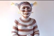 """Koshare, Sacred Clowns of the Hopi / KACHINAS/KOSHARE ARE NOT """"DOLLS,"""" THEY ARE SPIRITUAL FIGURES. Koshari (Koshare), Koyala, Hano, or Tewa are the names of a clown that is often seen on the Hopi Mesas. In the Hopi tradition, the Sacred Clown Kachina frequently disrupts, making a mess of some of the most vital and fundamental rituals, acting out and exaggerating improper behavior."""