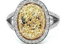 Mood Board: Yellow Diamonds / Yellow Diamond Jewelry | Yellow Gemstones | Yellow Gemstone Jewelry | Yellow Sapphire | Yellow Spinel | Yellow Garnet | Yellow Topaz | Yellow Opal | Yellow Jade | Citrine | Amber