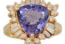 Mood Board: Amethyst & Purple / Amethyst | Purple Diamond | Purple Quartz | Tanzanite | Purple Garnet | Rose de France | Purple Jade