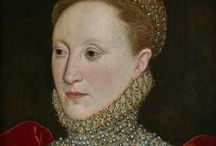 Elizabeth I / Born 1533, died 1603. Daughter of Henry VIII and Anne Boleyn. Regent Queen of England from 1558-1603.