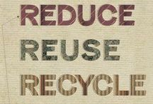 Reutilizando e criando / Podemos aproveitar várias coisa hoje em dia. O meio-ambiente agradece, além do seu bolso. / by cordovamc