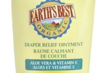 Organic Diaper Balms / Organic diaper balms, creams and healing ointments.