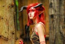 Cosplay -Halloween / Dragon~ fantasy costume ideas
