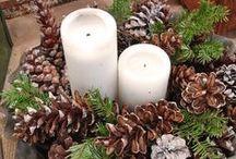 šišky  a   svíčky