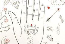 mis ilutraciones / Ilustraciones, distintas tecnicas