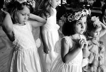 Married {with children} / Kids being kids at weddings! Flower girls, ring bearers, and the littlest of guests too.