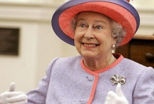 A hat for every day / Her Majesty Elisabeth... with hats of questionable taste.