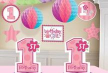 1st Birthday Girl {Party Ideas}