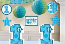 1st Birthday Boy {Party Ideas}