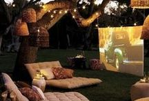 Backyard Movie Night Party / by Belinda-Billie Lim