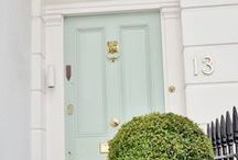 Make an Entrance! / Ideas to update your doorways today - with a lick of paint, door knobs, knockers, letterplates and more!
