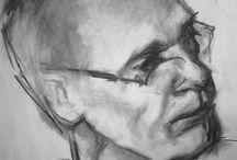 My work / Paintings & drawings.