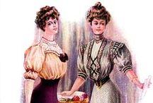 Dresses ca.1900-1910