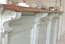 Farmhouse / Old, gorgeous.  Ways to decorate and things you would want in your dream Farmhouse.