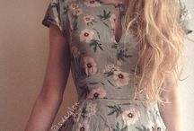 dreamy dresses / also cute rompers & skirts