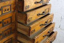 Vintage & Rustic Storage