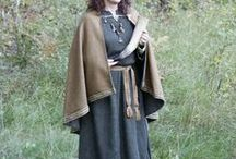 Viking Women and Girls Garb and Fittings / Vendel- and vikingage